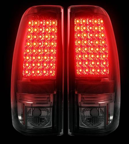 264173bk Led Tail Lights Smoked