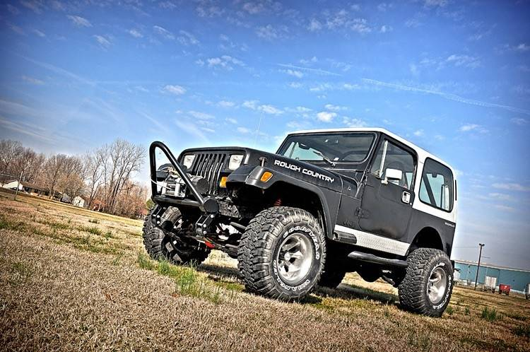 Lifted Jeep Wrangler >> 618.20 | 4.5 Inch Jeep Suspension Lift Kit | Power Steering