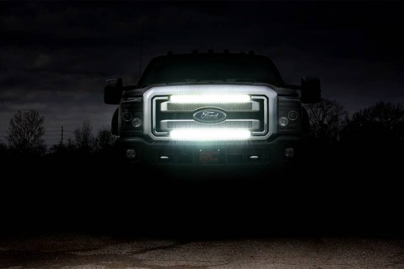 Ford Super Duty 30 Inch Cree Led Grille Kit Dual Light