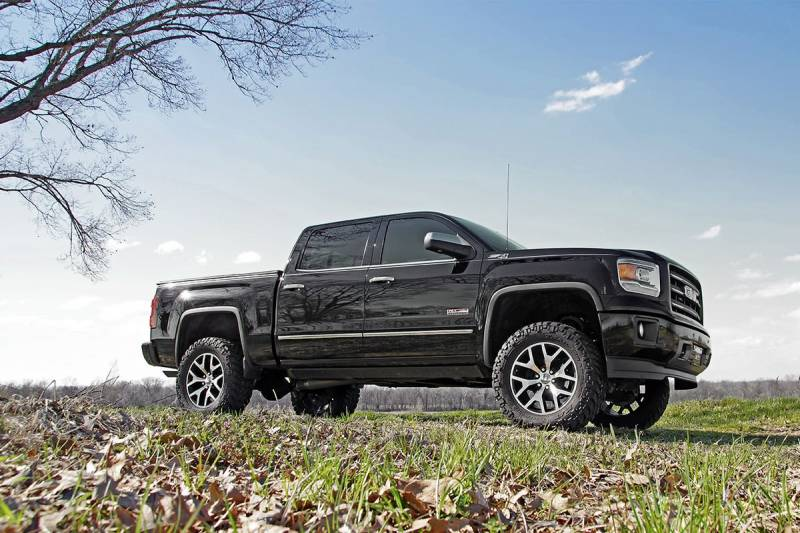 2017 Gmc Sierra 1500 Slt Reviews >> 226.20 | 6 Inch GM Suspension Lift, Knuckle Kit (Stock Cast Steel Control Arm)