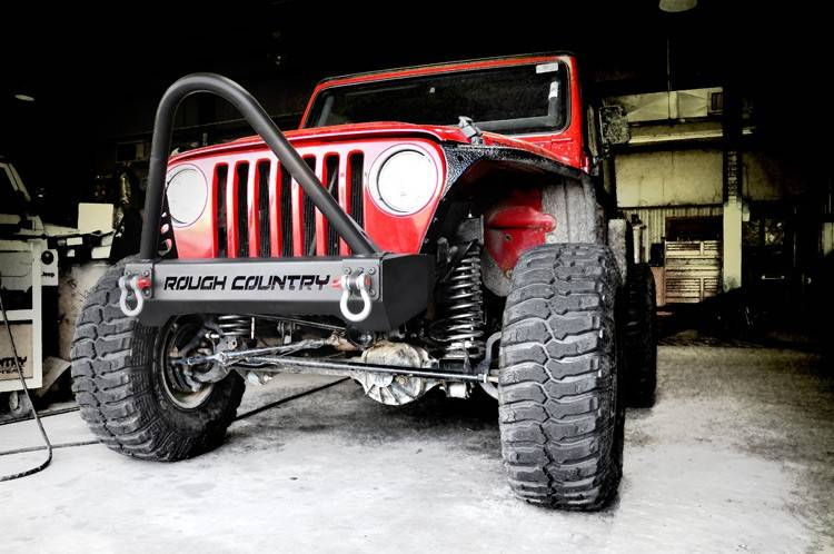 1013 Jeep Stinger Bar Rc Bumpers