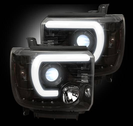 264295BKC   Projector Headlights   Smoked/Black