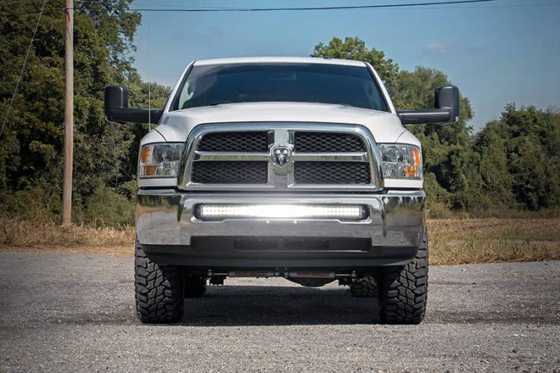 40 led bumper mount for dodge ram 2500 3500. Black Bedroom Furniture Sets. Home Design Ideas