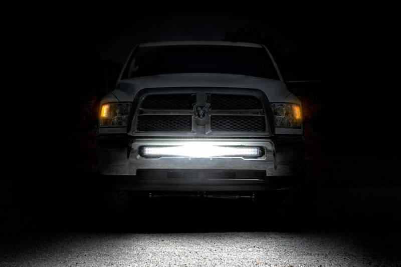 70569 40 Inch Led Light Bar Hidden Bumper Mounts Dodge