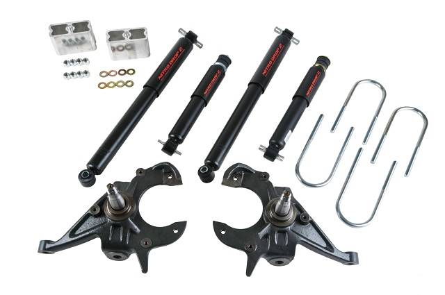 Belltech 614ND Lowering Kit with Nitro Drop 2 Shocks