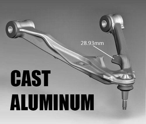 2015 Chevy Silverado Accessories >> 2014-2017 Chevrolet Silverado 1500, GMC Sierra 1500 4wd 3.5 Inch Suspension - Cast Aluminum ...