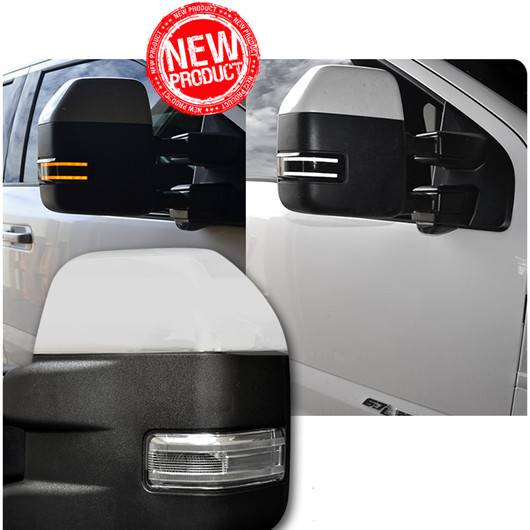 264245ambk Side Mirror Lights Smoked Lens With Amber Led