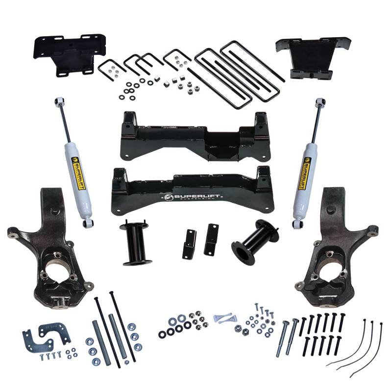Steel Lift Arm : K inch gm suspension lift kit aluminum or stamped