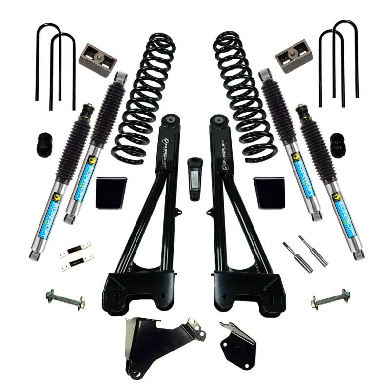 k977b 6 inch ford suspension lift kit w bilstein shocks. Black Bedroom Furniture Sets. Home Design Ideas