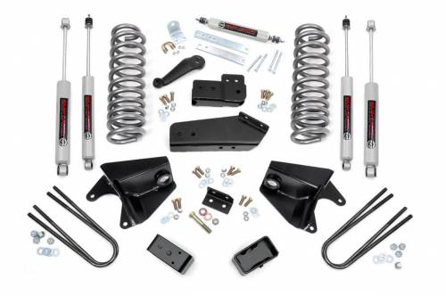 Rough Country Suspension - 472.20 | 6 Inch Ford Suspension Lift Kit w/ Premium N3 Shocks