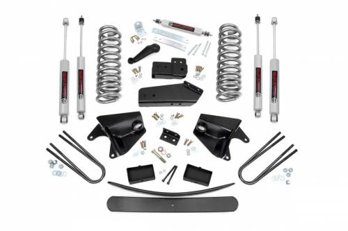 Rough Country Suspension - 470.20 | 6 Inch Ford Suspension Lift Kitw/ Premium N3 Shocks