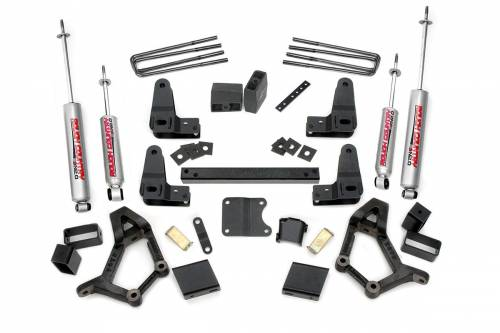 Rough Country Suspension - 734.20 | 4-5 Inch Toyota Suspension Lift Kit (Std. Cab)