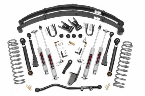 Rough Country Suspension - 69620 | 6.5 Inch Jeep X Series Suspension Lift Kit w/ Premium N3 Shocks