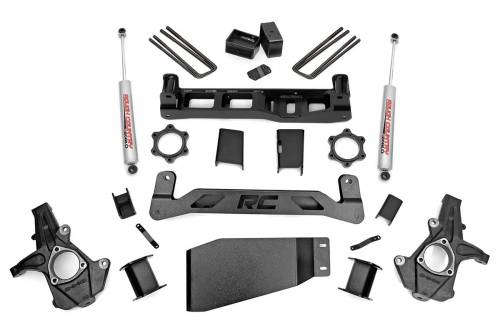 Rough Country Suspension - 26230 | 5 Inch GM Suspension Lift Kit w/ Premium N3 Shocks