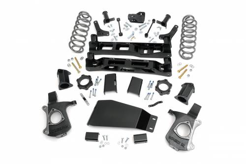 Rough Country Suspension - 28100 | 5in GM Suspension Lift Kit (07-13 Tahoe/Yukon/Suburban/Yukon XL)