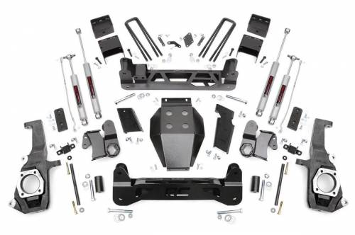 Rough Country Suspension - 25330 | 7.5in GM NTD Suspension Lift Kit (11-19 2500HD/3500HD)