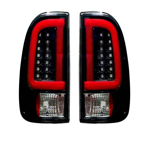 Recon Truck Accessories - 264293BK | OLED TAIL LIGHTS – Smoked Lens