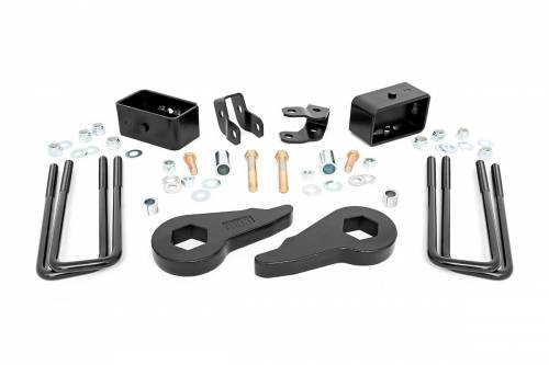 Rough Country Suspension - 28300 | 1.5 - 2.5in GM Leveling Lift Kit | No Shocks (99-06 1500 PU 4WD)