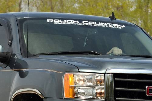 Rough Country Suspension - 84164 | Rough Country 25 Inch window Decal