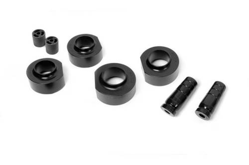 Rough Country Suspension - 650 | 1.5 Inch Jeep Suspension Lift Kit | No Shocks