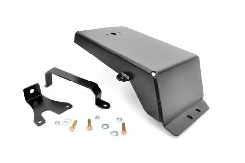 Rough Country Suspension - 777 | Jeep Evap Canister Skid Plate (07-18 Wrangler JK)