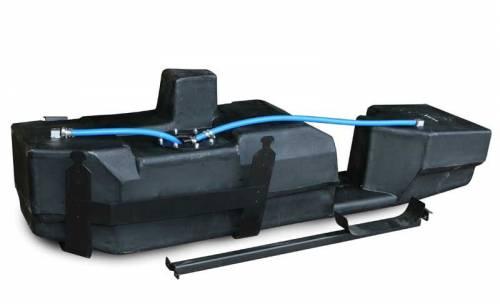 Titan Fuel Tanks - 2001-2010 GM Extended Cab Short Bed Super Series 39 Gallon Diesel Fuel Tank