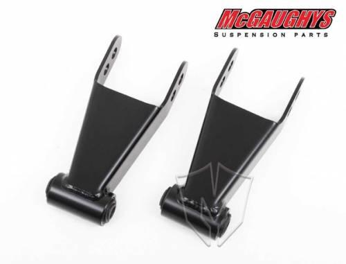 Mcgaughys Suspension Parts - 33200   2 Inch GM Rear Lowering Shackles