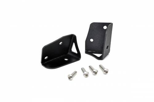 Rough Country Suspension - 6004 | Jeep Lower Windshield Light Mounts (07-18 Wrangler JK)