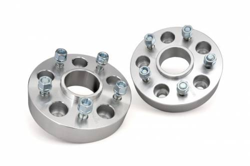 Rough Country Suspension - 1091 | 1.5-inch Wheel Spacers (Pair, Aluminum)