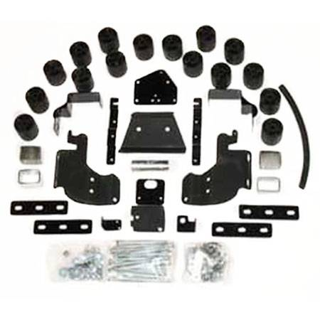 Performance Accessories - PA60193   3 Inch Dodge Body Lift Kit (Diesel Engine ONLY)