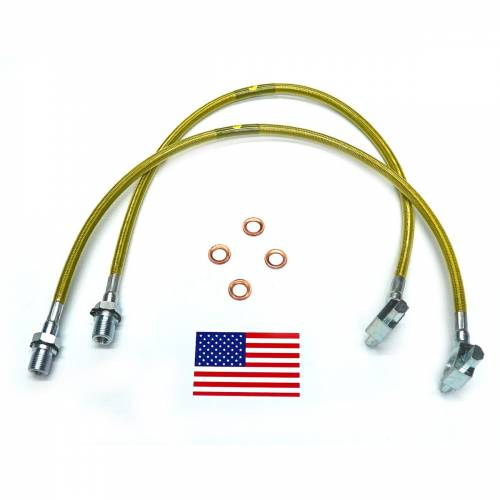 SuperLift - 91600 | | Bullet Proof Brake Hoses | Front