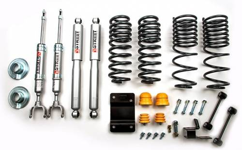 Belltech Suspension - 965SP | Complete 2/4 Lowering Kit with Street Performance Shocks