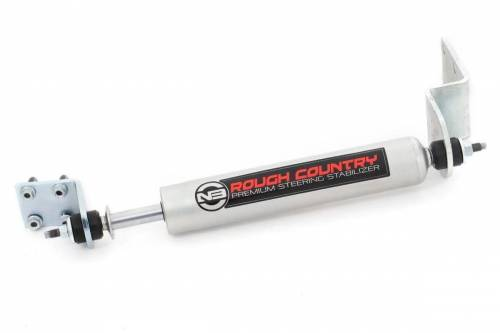 Rough Country Suspension - 8738630 | GM N3 Steering Stabilizer