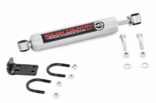 Rough Country Suspension - 8731830 | Jeep N3 Dual Stabilizer Conversion Kit (07-18 Wrangler JK)