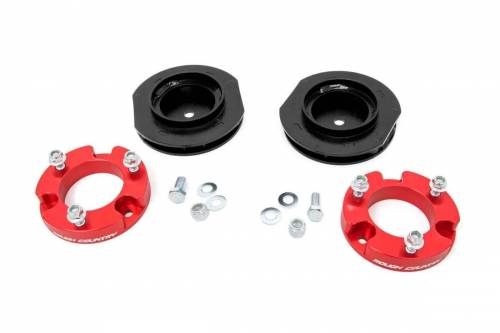 Rough Country Suspension - 763REDA   2 Inch Toyota Suspension Lift Kit