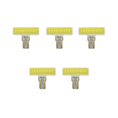 Recon Truck Accessories - 264280WHX | 194 Type 3-Watt High Port LED Bulbs | White 5 Pack