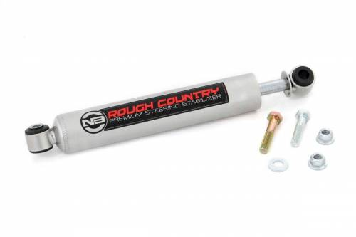 Rough Country Suspension - 8736830 | Nissan N3 Steering Stabilizer