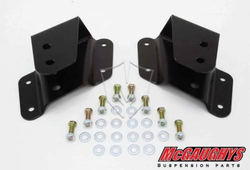 Mcgaughys Suspension Parts - 33035 | 1-2 Inch GM Frone Eye Hangers
