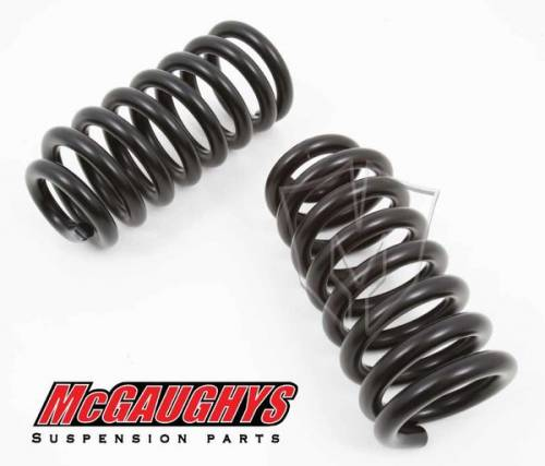 Mcgaughys Suspension Parts - 33127   1 Inch GM Front Lowering Springs