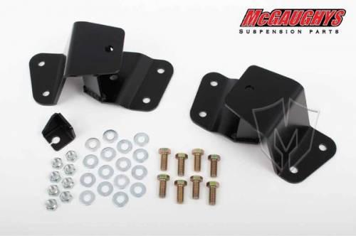 Mcgaughys Suspension Parts - 33143 | 2 Inch GM Rear Lowering Eye Hangers