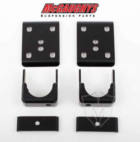 Mcgaughys Suspension Parts - 33144 | 6 Inch GM Rear Lowering Flip Kit