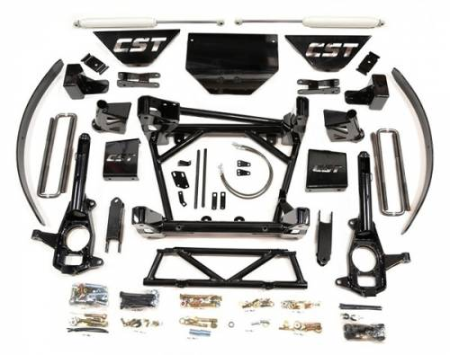 CST Suspension - CSK-C3-16-1| GM 8-10 Inch Suspension Kit W/BLOCK & AAL (includes rear shocks)