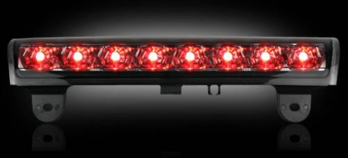 Lighting - LED Third Brake Lights - Recon Truck Accessories - 264114BK | LED 3rd Brake Light | Smoked