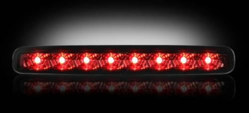 Lighting - LED Third Brake Lights - Recon Truck Accessories - 264119BK | LED 3rd Brake Light | Smoked Lens
