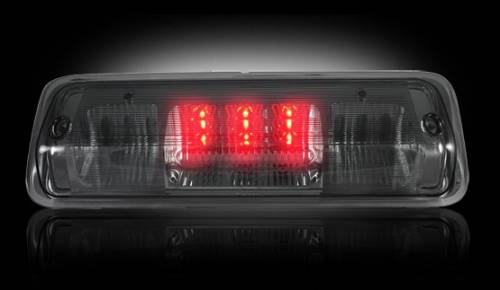 Lighting - LED Third Brake Lights - Recon Truck Accessories - 264124BK | LED 3rd Brake Light | Smoked