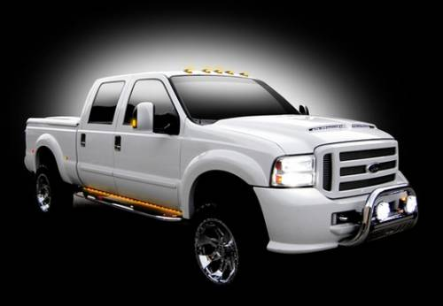 "Lighting - Driving & Running Lights - Recon Truck Accessories - 62"" BIG RIG AMBER Running Lights"