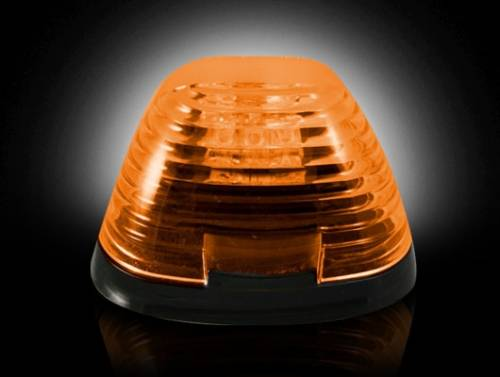 Lighting - Cab Roof Lights - Recon Truck Accessories - 1999-2015 Ford F-250, F-350 Super Duty Cab Roof Light Kit - Amber Lens