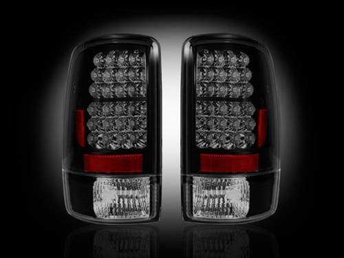 Lighting - LED Taillights - Recon Truck Accessories - 2000-2006 Chevrolet Suburban, Tahoe, GMC Yukon LED Tail lights | Smoked