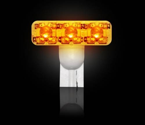 Recon Truck Accessories - 194 Type 1-Watt High Power LED Bulb - Amber
