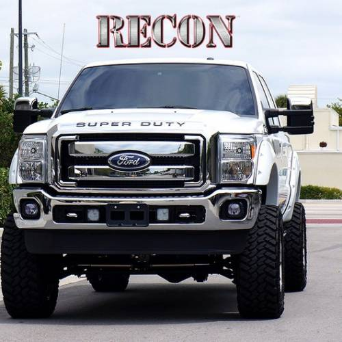 Recon Truck Accessories - 264181BK | Super Duty Raised Letter Inserts - Black - Image 3